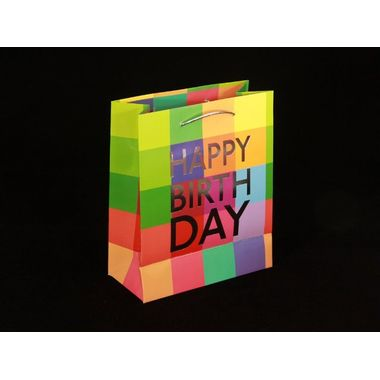 Happy Birthday Paper Bag (Pack of 2pcs)