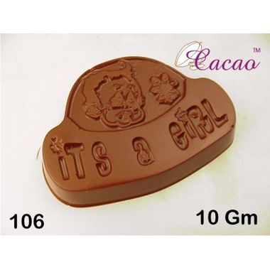 It's a Girl-Chocolate Mould