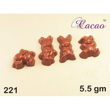 Bunny shapes-Chocolate Mould
