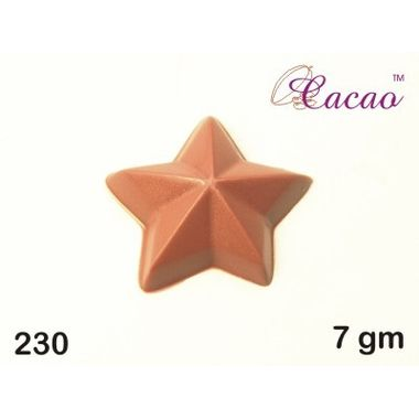 Pointed star-Chocolate Mould