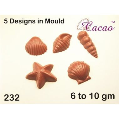 5 designs-Chocolate Mould