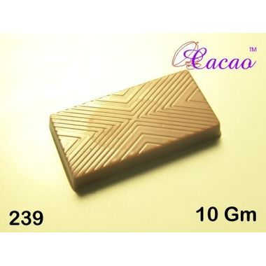 Rectangle with lines-Chocolate Mould
