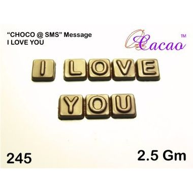 I Love You (3pcs)-Chocolate Mould