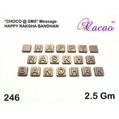 Happy Raksha Bandhan 2-Chocolate Mould
