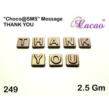 Thank You (8pcs)-Chocolate Mould