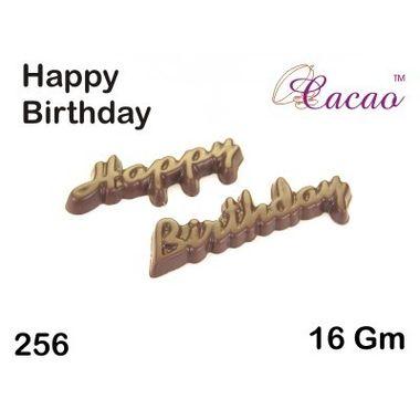 Happy Birthday 3-Chocolate Mould