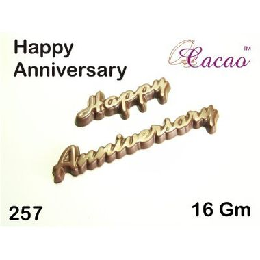 Happy Anniversary 3-Chocolate Mould