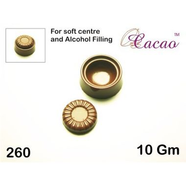 Round soft center-Chocolate Mould