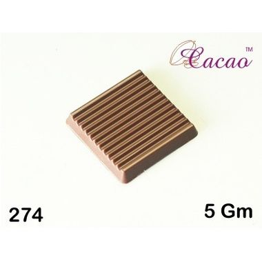 Thin ribbed square-Chocolate Mould