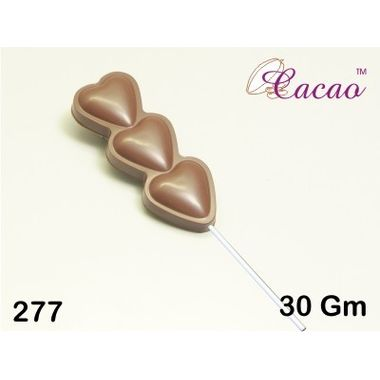 Triple Hearts stick-Chocolate Mould