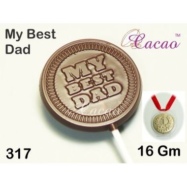 My Best Dad-Chocolate Mould