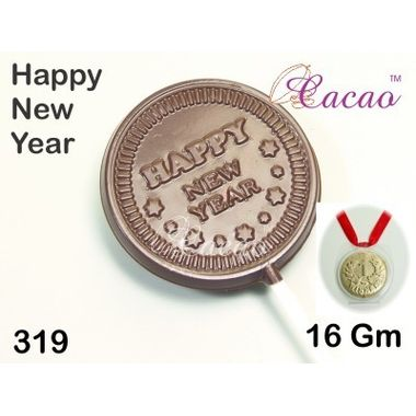 Happy new year 3-Chocolate Mould