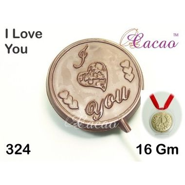 I Love You (round)-Chocolate Mould