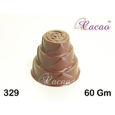 3 level cake-Chocolate Mould