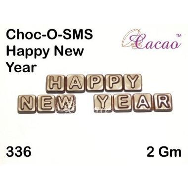 Happy new year 4-Chocolate Mould