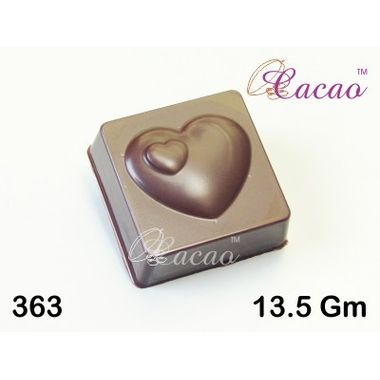 Square heart-Chocolate Mould