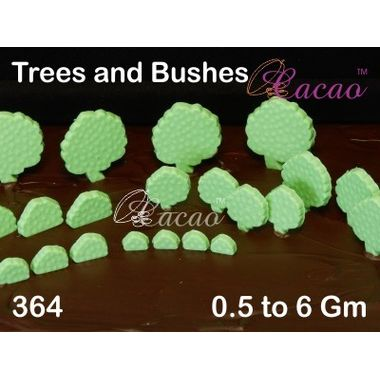 Trees and bushes-Chocolate Mould