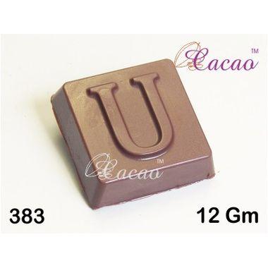 U square-Chocolate Mould