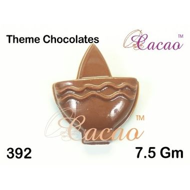 Diya with triangle-Chocolate Mould