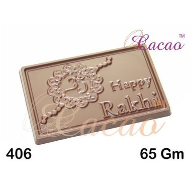 Happy Rakhi-Chocolate Mould