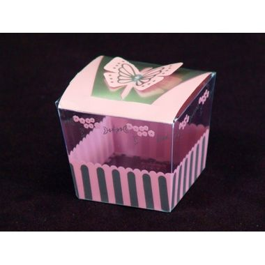 Pink Butterfly Box (Pack of 10pcs)