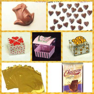 Make your own chocolates Box