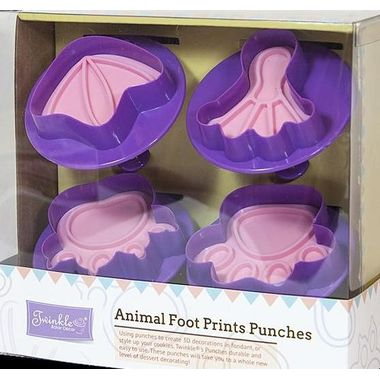 Animal Foot Prints Punches