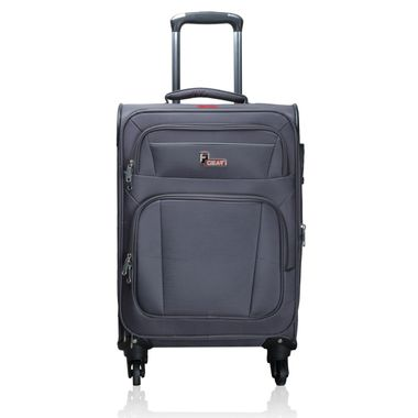 F Gear Cabinet 28 inch(L) Spinner Grey Strolley Suitcase