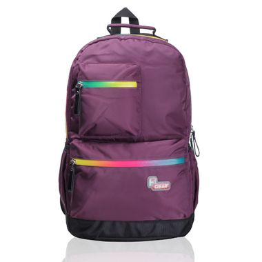 Aventus Purple Laptop Backpack- Eye-Popperz