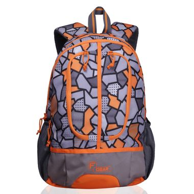 Dropsy 3D P Orange  casual backpack