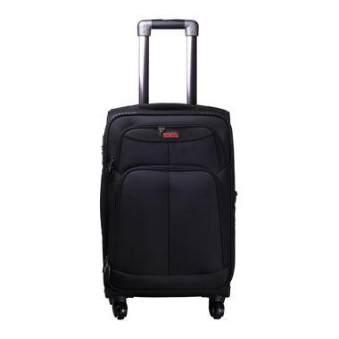 Crystal  Black  Cabin Luggage - 20 inch
