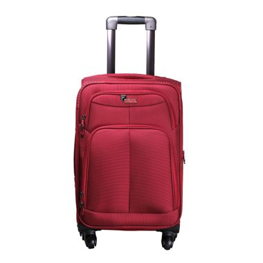Crystal Red Check-in Luggage - 28 Inch