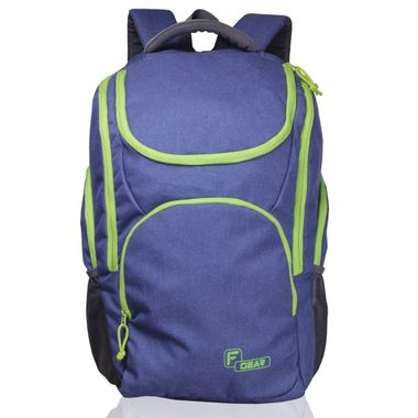 X Lander Navy Blue Green  Backpack