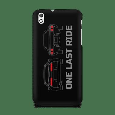 ONE LAST RIDE - HTC Desire 816   Mobile Cover