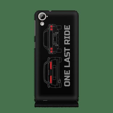 ONE LAST RIDE - HTC Desire 820 | Mobile Cover
