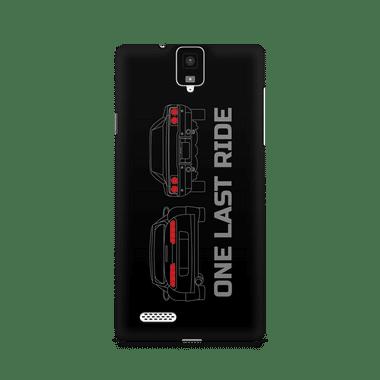ONE LAST RIDE - InFocus M330 | Mobile Cover