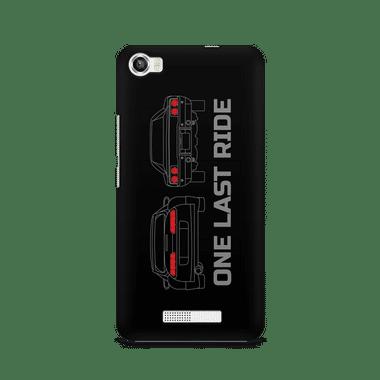 ONE LAST RIDE - Lava Iris X8 | Mobile Cover