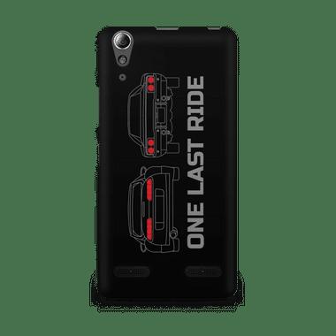 ONE LAST RIDE - Lenovo A6000 | Mobile Cover