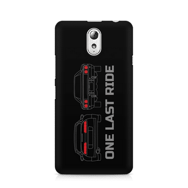 ONE LAST RIDE - Lenovo Vibe P1 M | Mobile Cover