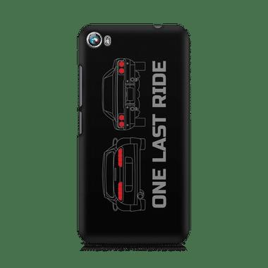ONE LAST RIDE - Micromax Canvas Fire 4 A107 | Mobile Cover