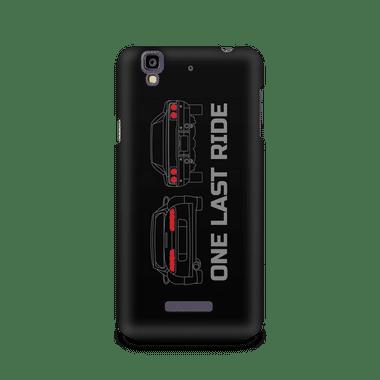 ONE LAST RIDE - Micromax YU Yureka A05510   Mobile Cover