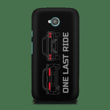 ONE LAST RIDE - Moto E2 | Mobile Cover