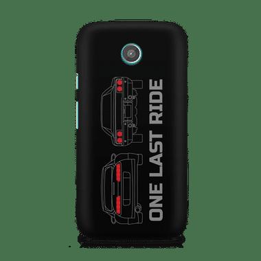 ONE LAST RIDE - Moto X   Mobile Cover
