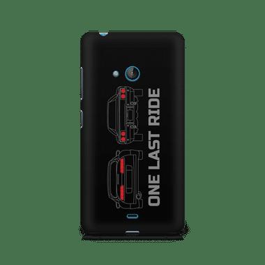ONE LAST RIDE - Nokia Lumia 540   Mobile Cover