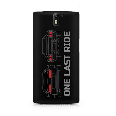 ONE LAST RIDE - OnePlus One | Mobile Cover