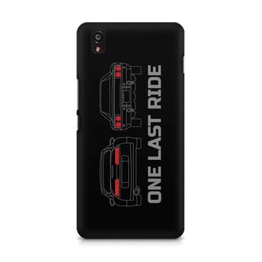 ONE LAST RIDE - OnePlus X | Mobile Cover
