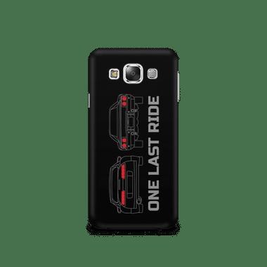 ONE LAST RIDE - Samsung E5 | Mobile Cover