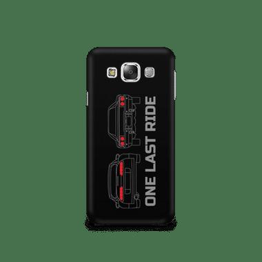 ONE LAST RIDE - Samsung E7   Mobile Cover
