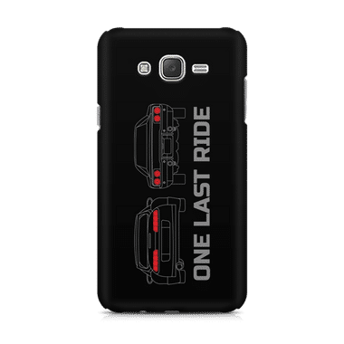 ONE LAST RIDE - Samsung J7 2016 Version | Mobile Cover