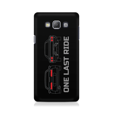 ONE LAST RIDE - Samsung On 7 | Mobile Cover